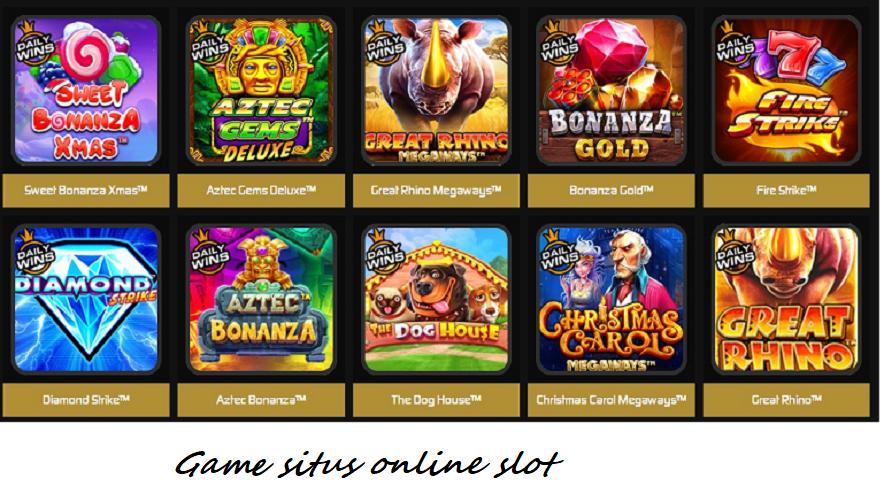 Gаmе situs online slot